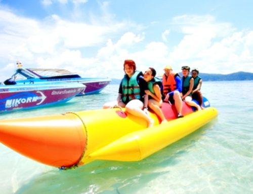 Coral Island Tour & Banana Boat & Parasailing