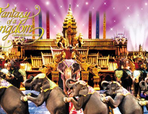 Phuket FantaSea Show Gold seats + Free Dinner
