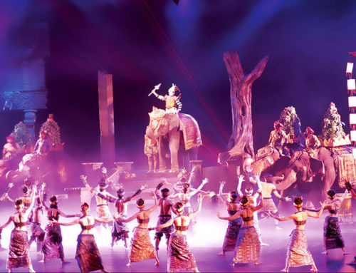 Phuket FantaSea Show Gold seats + Dinner with sea food