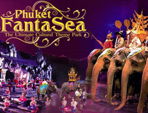 Phuket FantaSea Show Gold seats + Dinner with sea food + Transfer